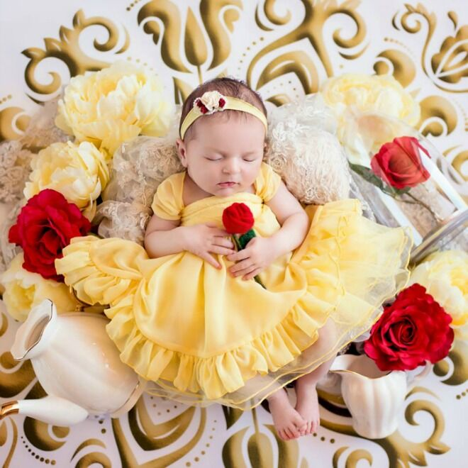 Belle Disney Princesses Belly Babies