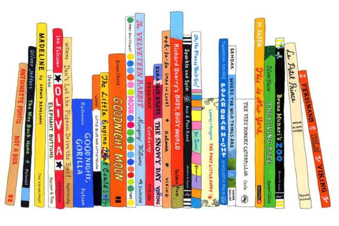 Ideal Bookshelf book illustrations