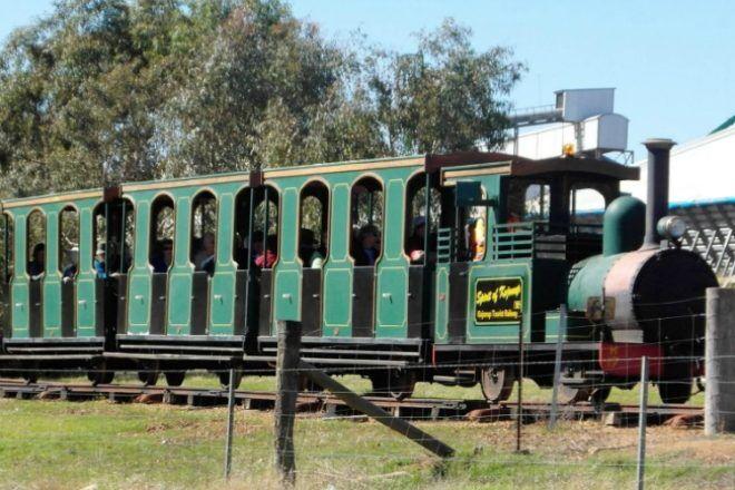Kojonup tourist railway WA
