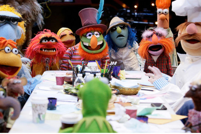 Kermit and Muppets