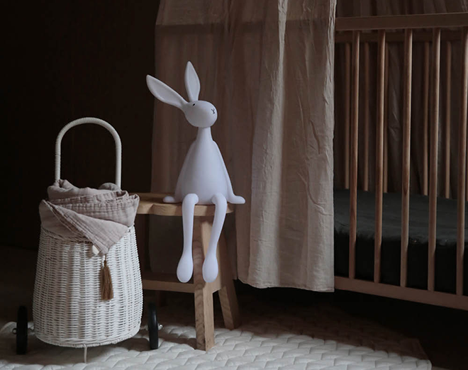 Joseph Bunny Lamp By Rose in April