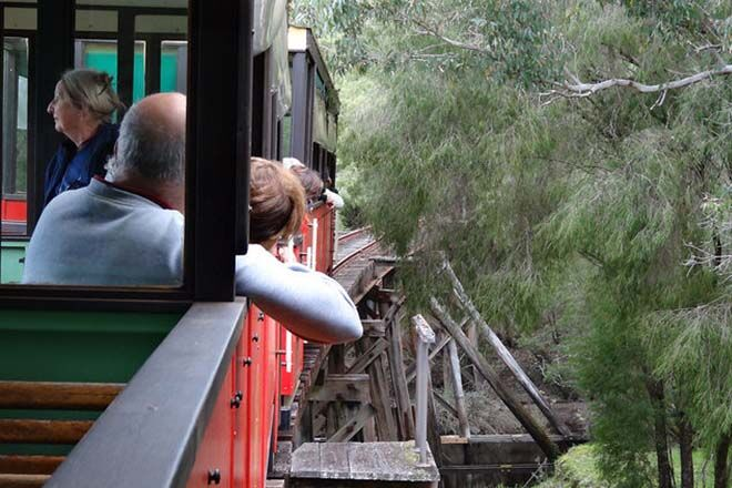 where to ride a train in WA Pemberton Tramway