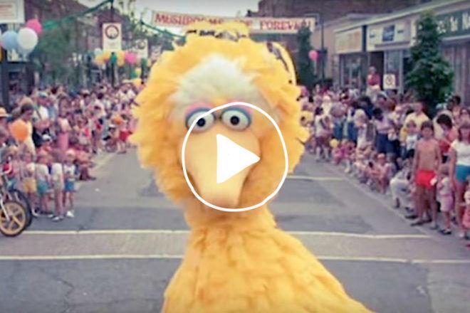 Sesame Street Beastie Boys remake video
