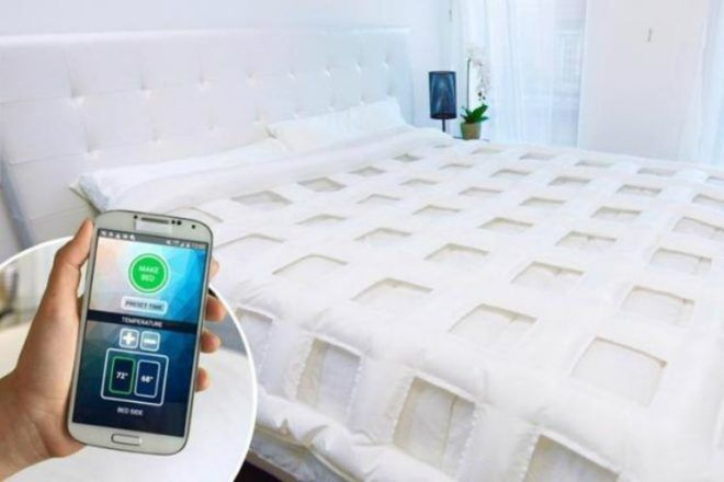Bed That Makes Itself Idea