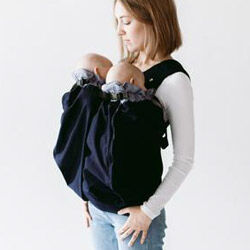 Weego twin baby carrier front