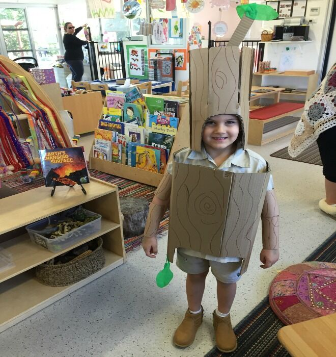 6 book week costumes idea for non-crafty mums stick man