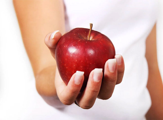 Apple for morning sickness
