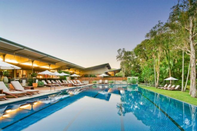 Pool area of The Byron at Byron Bay Resort and Spa, New South Wales
