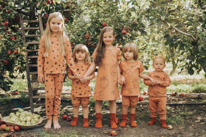 kids sleepwear from G.Nancy fruit salad SS17