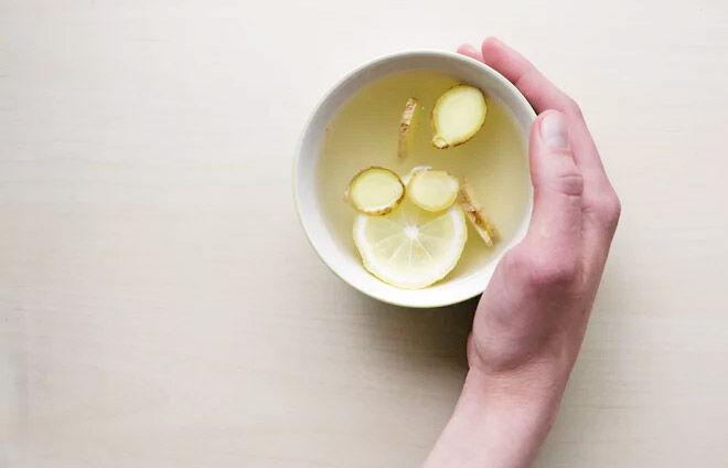 Ginger tea for morning sickness