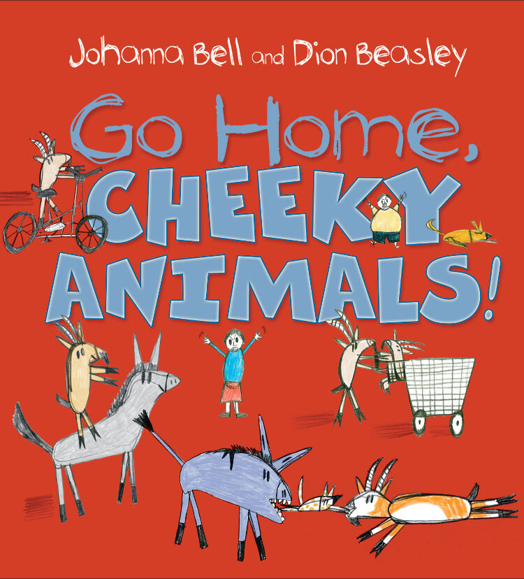 Go Home, Cheeky Animals! Childrens Book of the Year winners 2017