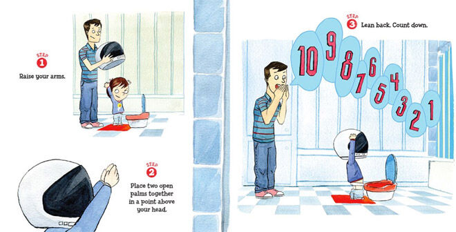 How to Pee - potty training for boys by Todd Spector