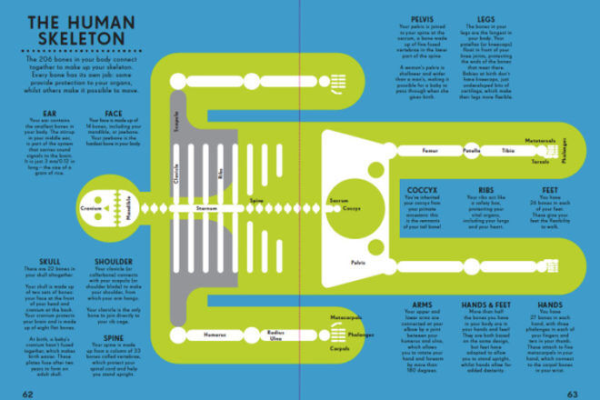 Infographics Human Body book by Peter Grundy
