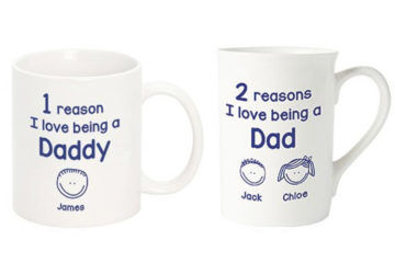 Personalised mugs for dads Identity Direct
