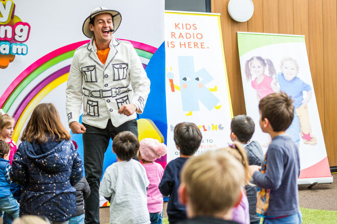 Sam Wiggle - skills toddlers learn through music
