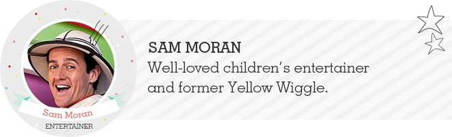 Sam Moran Yellow Wiggle interview
