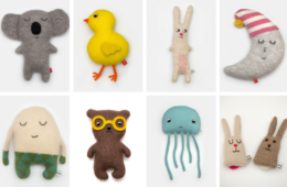 Sara Carr knitted toys
