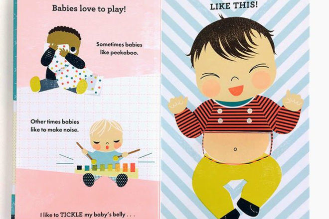 Snuggle the Baby book