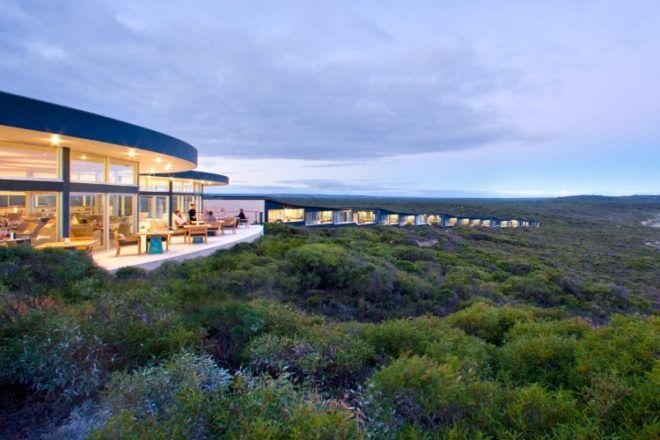 View of Southern Ocean Lodge, Kangaroo Island