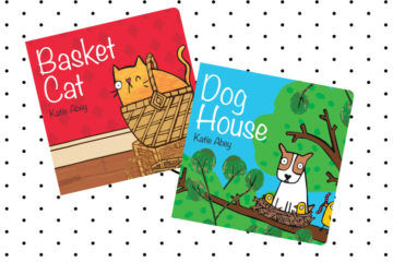 Basket Cat/Dog House books
