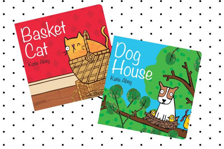 Basket Cat/Dog House books