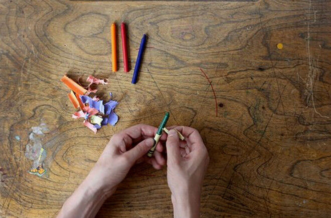 step 1 - make your own oliver jeffers crayons