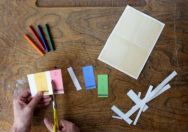 step 2 make your own oliver jeffers crayons