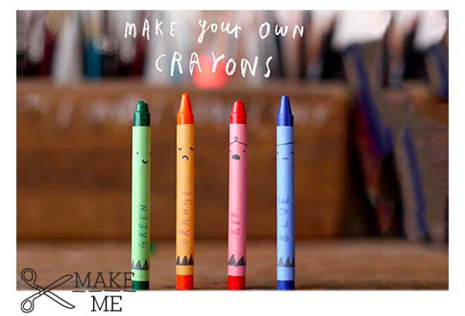 craft- make your own oliver jeffers crayons
