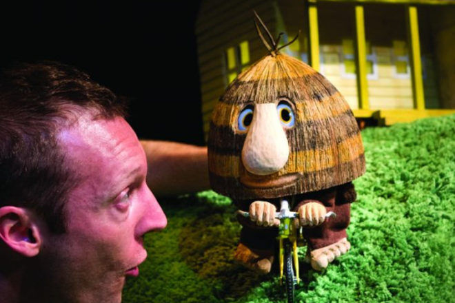 grug and the rainbow at the monkey baa theatre sydney
