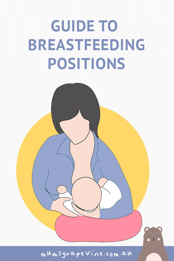 Handy guide to breastfeeding positions