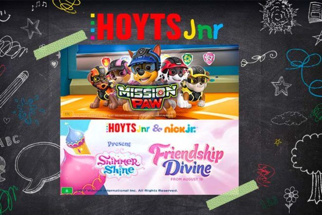 WIN a Hoyts Jnr movie pack (including Paw Patrol goodies