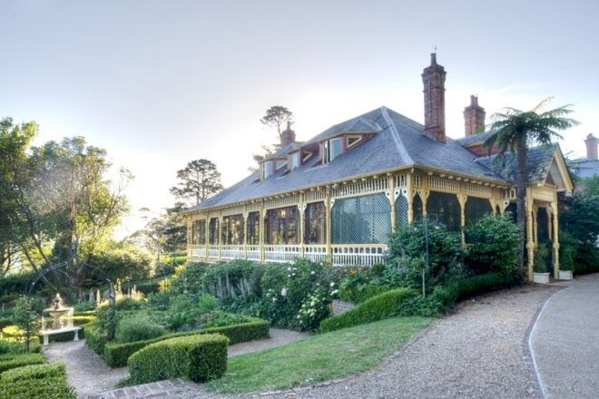 Outside view of Lilianfels, Blue Mountains, New South Wales