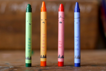 Make your own Oliver Jeffreys crayons