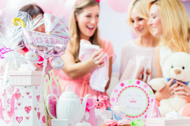 opening presents - awkward baby shower moments