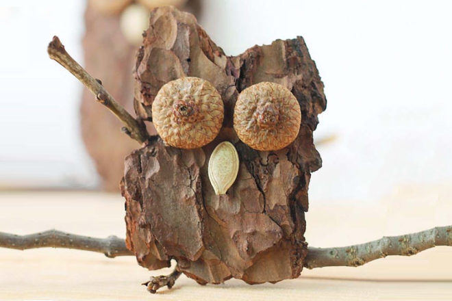 How to make a wooden owl
