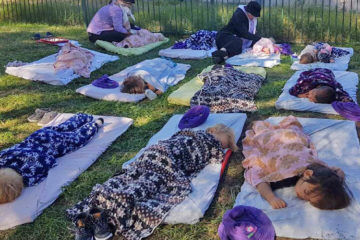 childcare Centre lets kids sleep outside