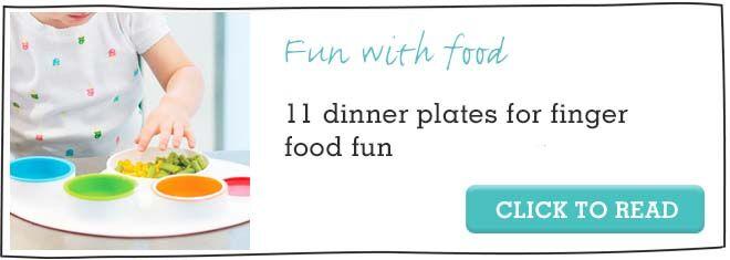 11 dinner food plates for toddler finger food