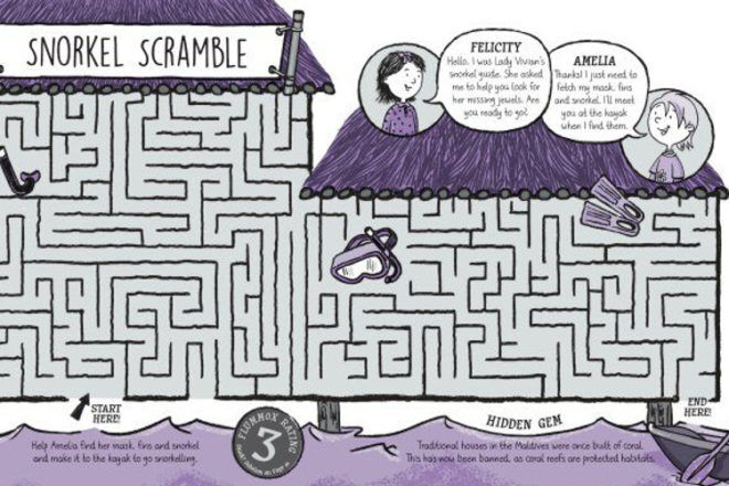 Book Review: Lonely Planet Kids: Amelia's Maze Adventure