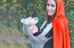 Baby Carrier halloween costumes little red riding hood