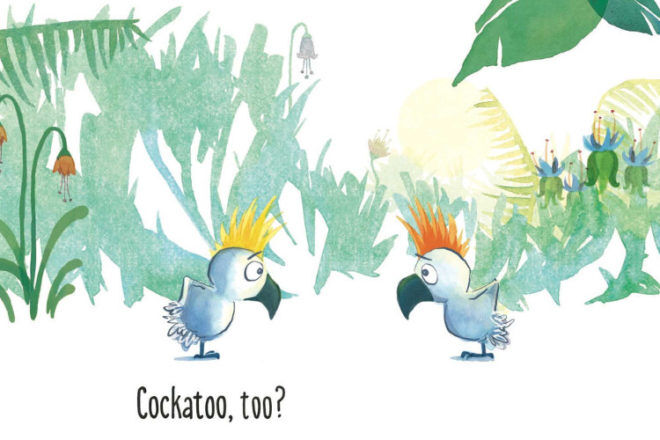 Cockatoo, Too by Bethanie Deeney Murguia