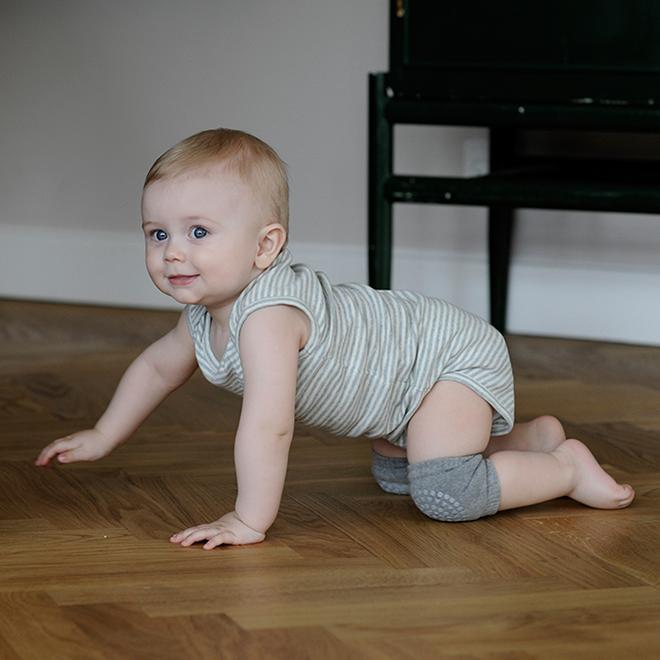 GoBabyGo non slip baby knee pads, socks and tights