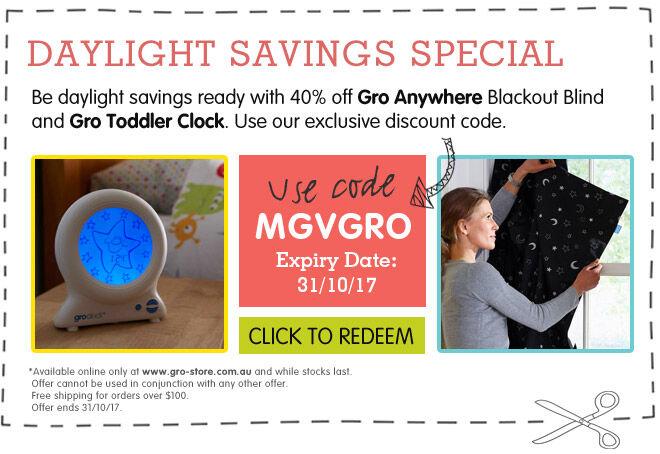 Gro Daylight Savings Exclusive Coupon
