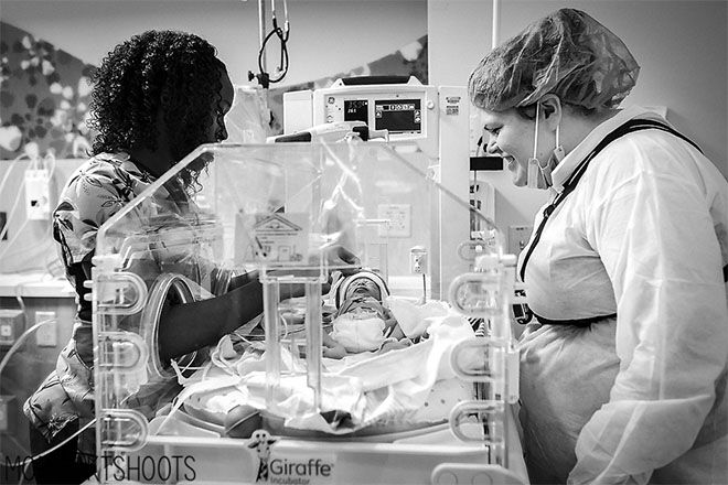 Midwives nurses birth photography
