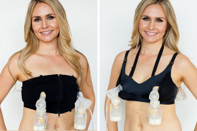 Simply Wishes breast pump bra