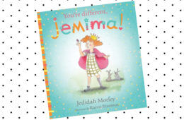 You're Different Jemima book
