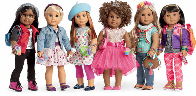 Create your own Truly Me American Dolls