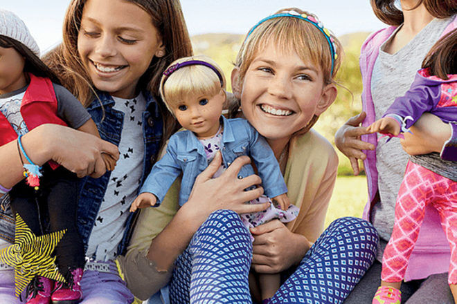 Americal Girl Create Your Own dolls
