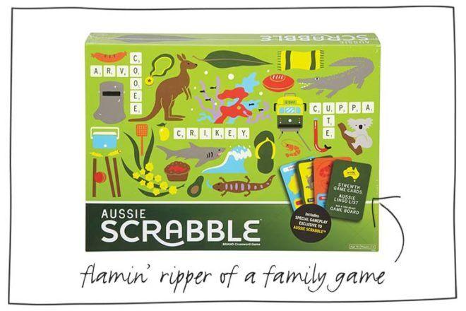 new Aussie Scrabble edition
