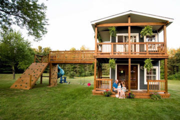 Incredible cubby house that will blow your mind