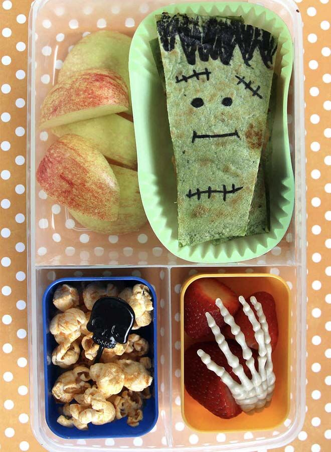 spooktacular Halloween lunch box snacks for creepy kids